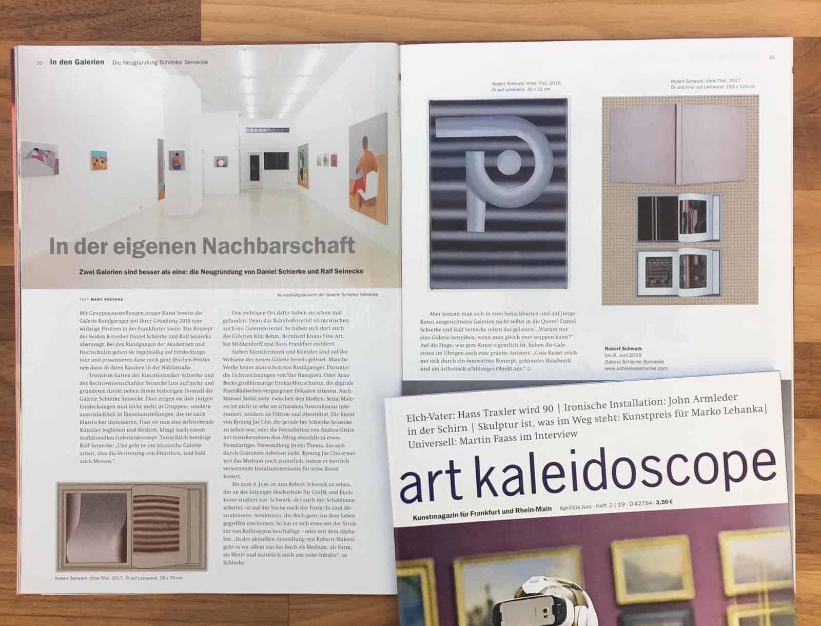 art kaleidoscope, April 15   Schierke Seinecke